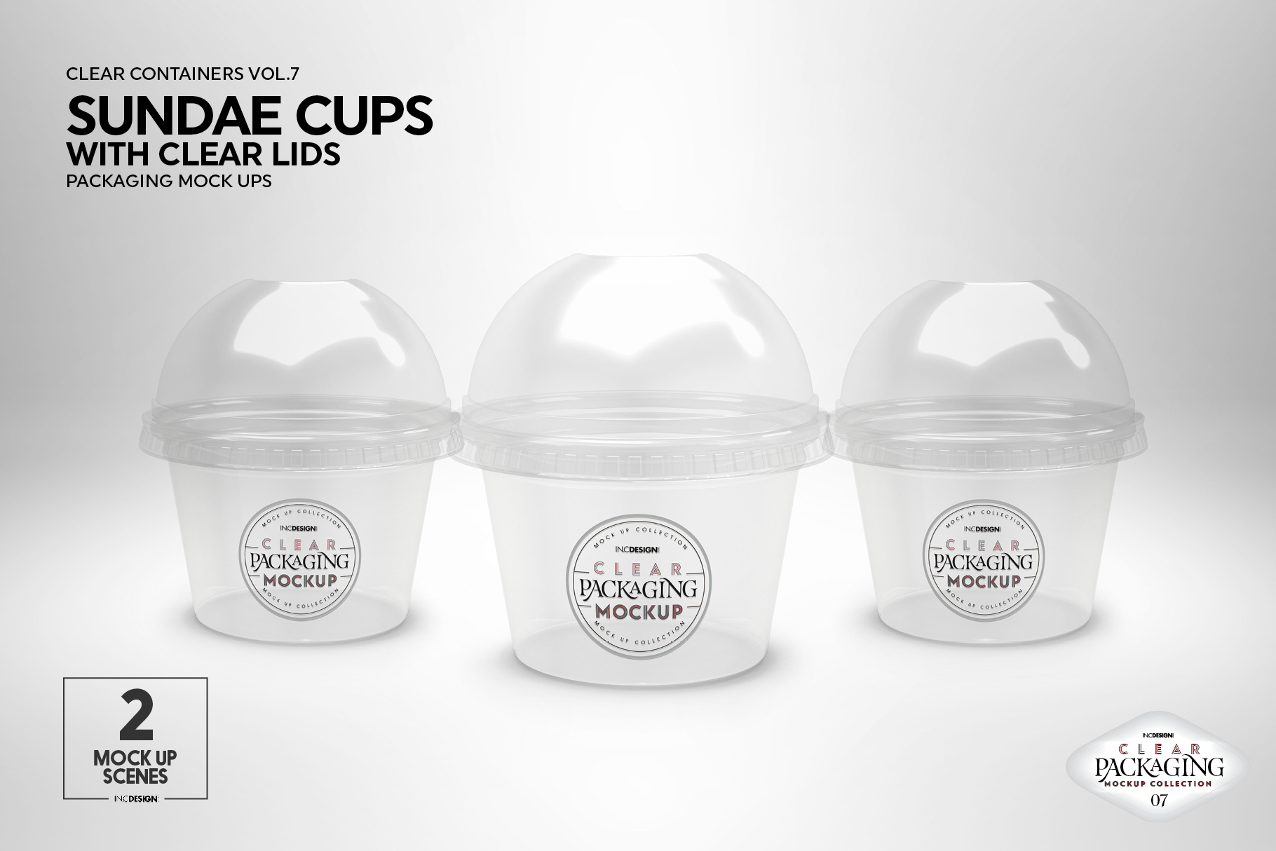 VOL.7 Clear Packaging Mockup Collection example image 6