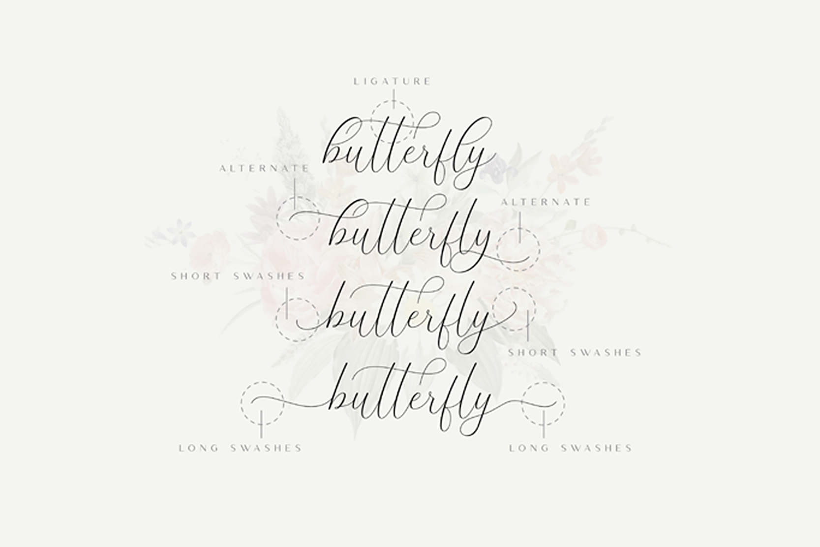The Britney - Calligraphy Script example image 8