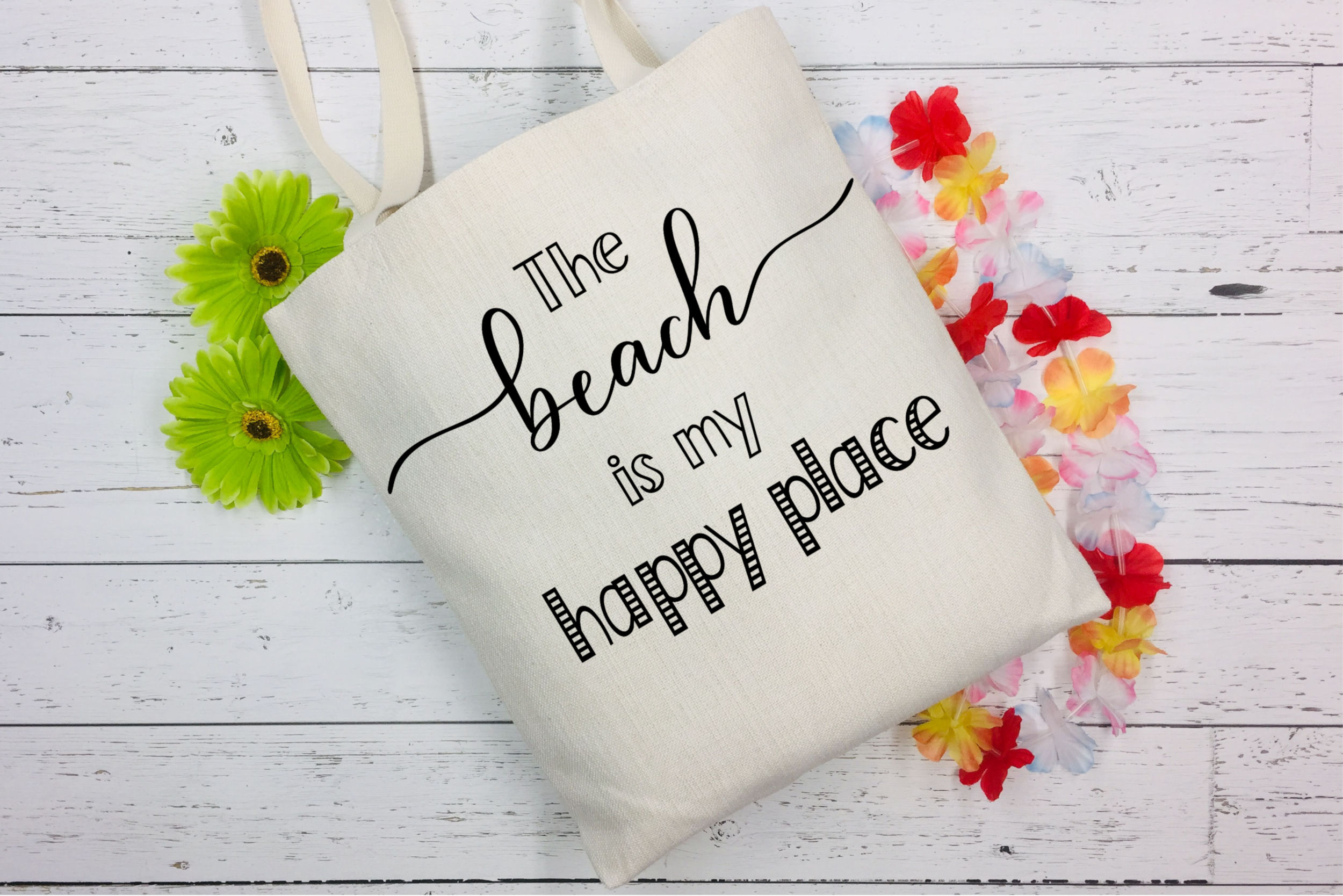 The Beach is My Happy Place SVG - Beach SVG File example image 3