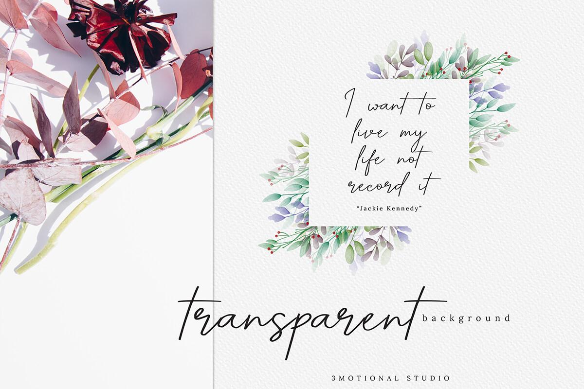 Christmas Postcard Editable Template 5x7 example image 2