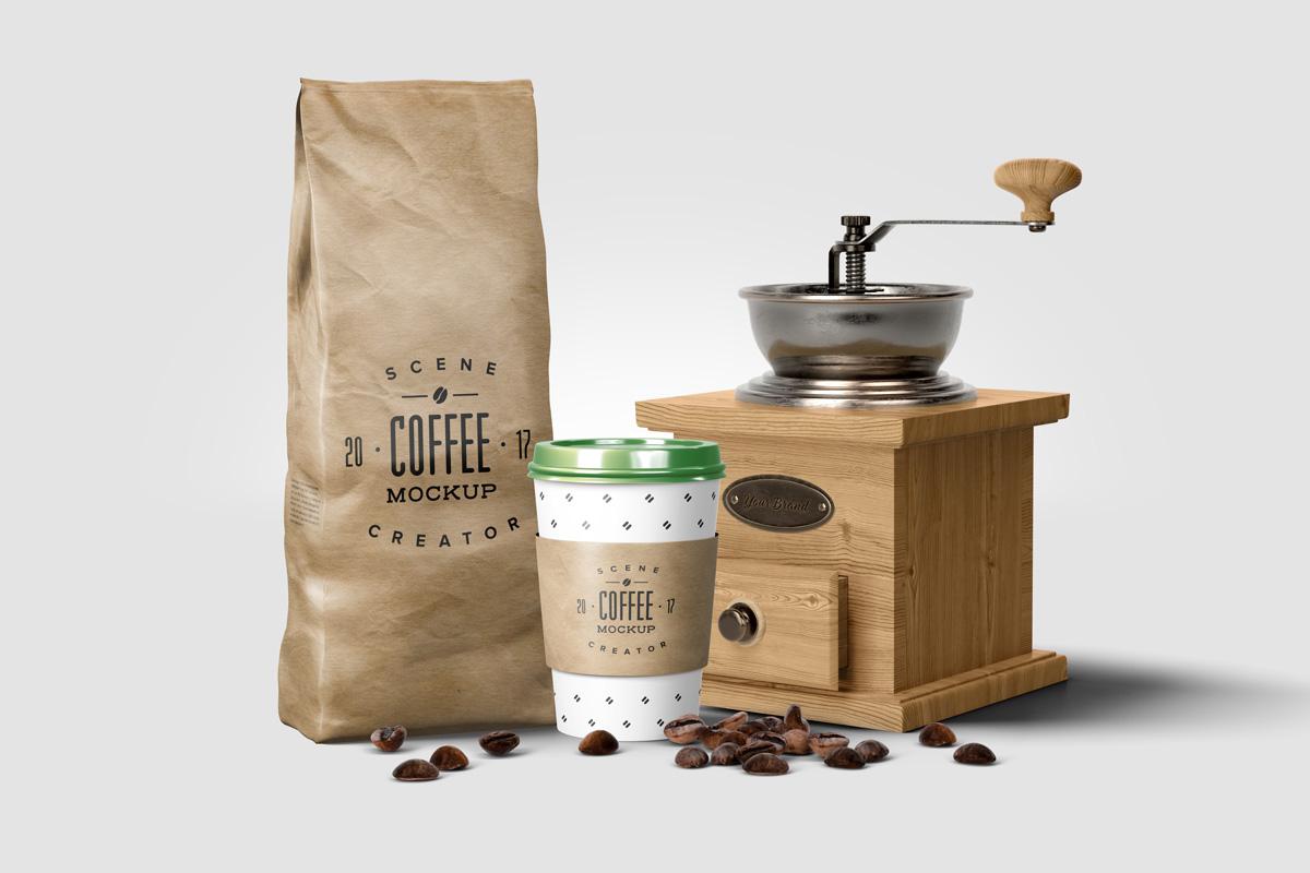 Coffee Mockup Scene Creator example image 5