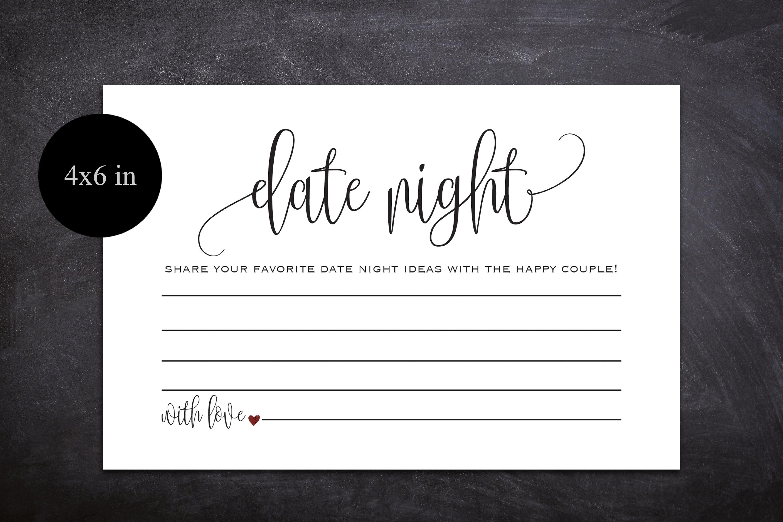 Date Night Cards, Date Night Ideas, Date Jar, Wedding Advice example image 2