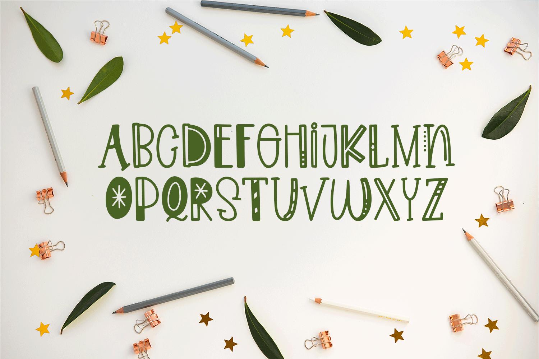 Noisy Kids - a Playful Hand-Written Font example image 5