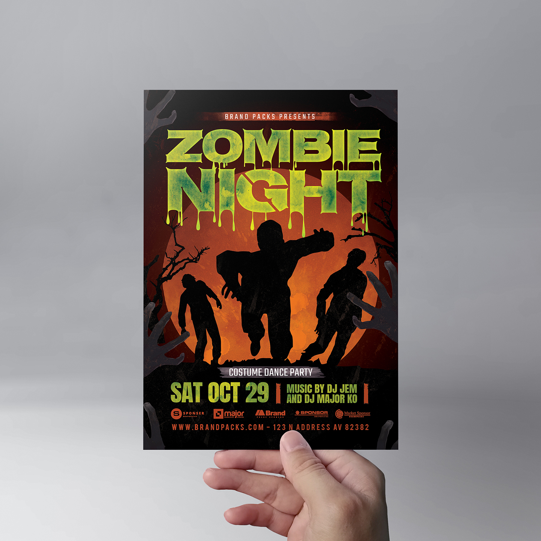 Halloween Flyer Template example image 5