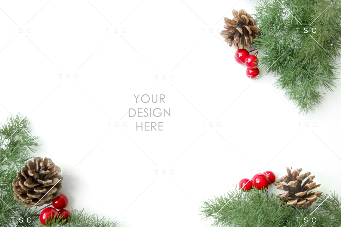 Christmas Stock Bundle / Background Image / Red / Green example image 6