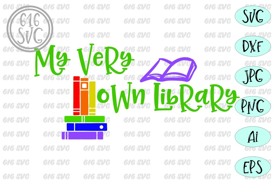 My very own library SVG example image 3