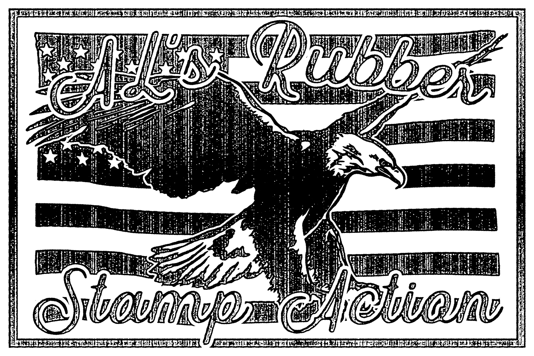 AL's Rubber Stamp Action Kit example image 22