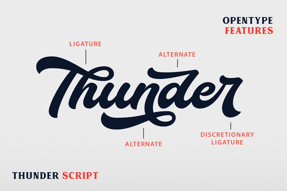 Thunder Script example image 3