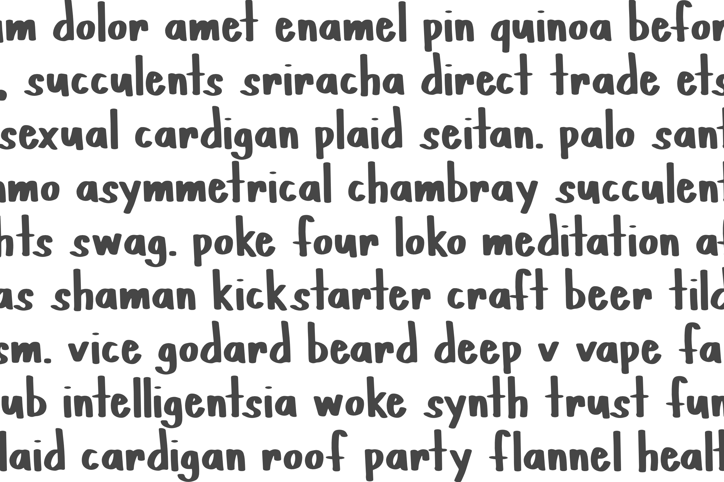 PINTA - A Handpainted Font example image 4