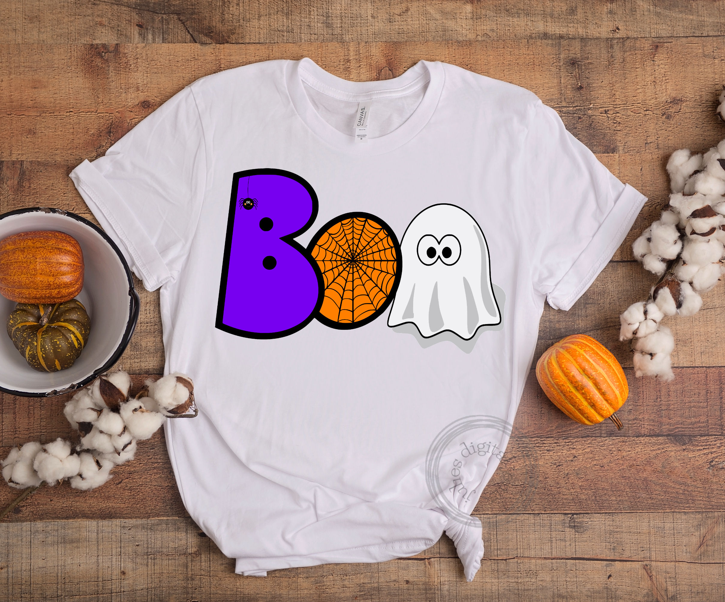 Boo web ghost SVG, Halloween svg, by Julies digital jems example image 3