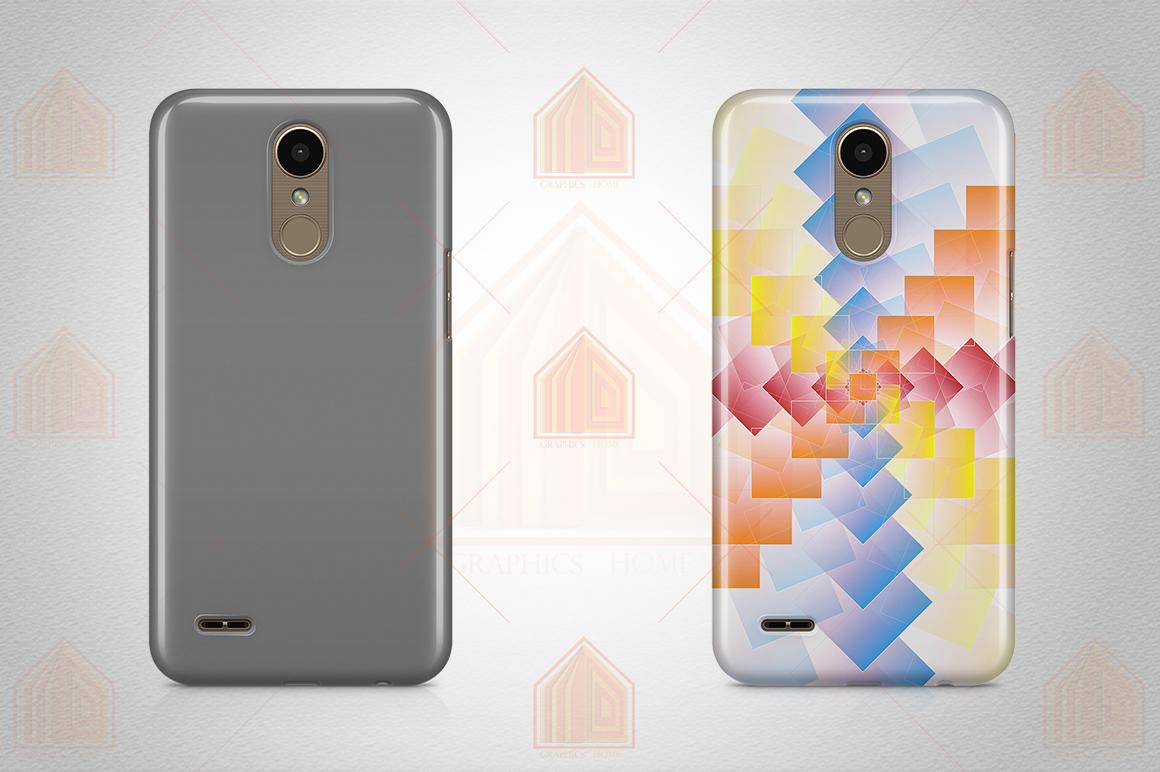 LG K10 2017 Case Design Mockup Back View example image 3