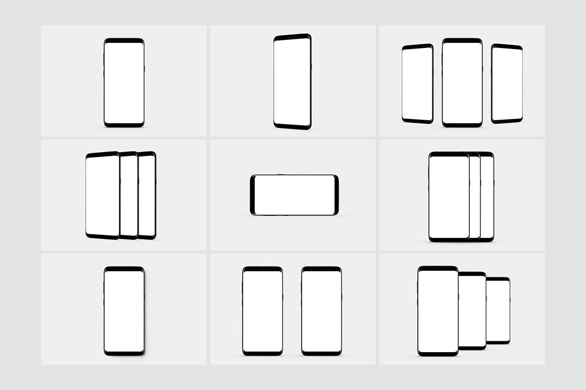 Smartphone Mock-Ups Vol. 2 example image 12