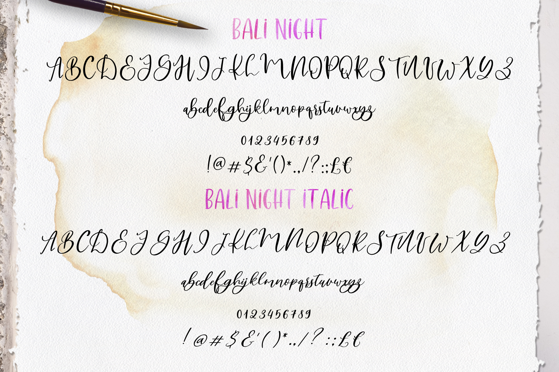 Smooth Handlettering Fonts Collection and Doodles  example image 16