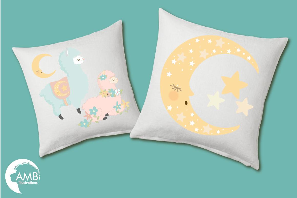 Baby Llama Nursery clipart, graphics, illustrations AMB-2266 example image 3
