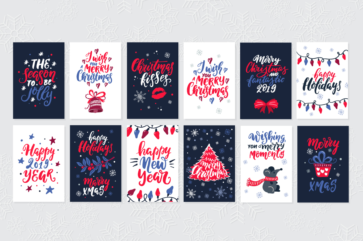 72 Christmas cards example image 10