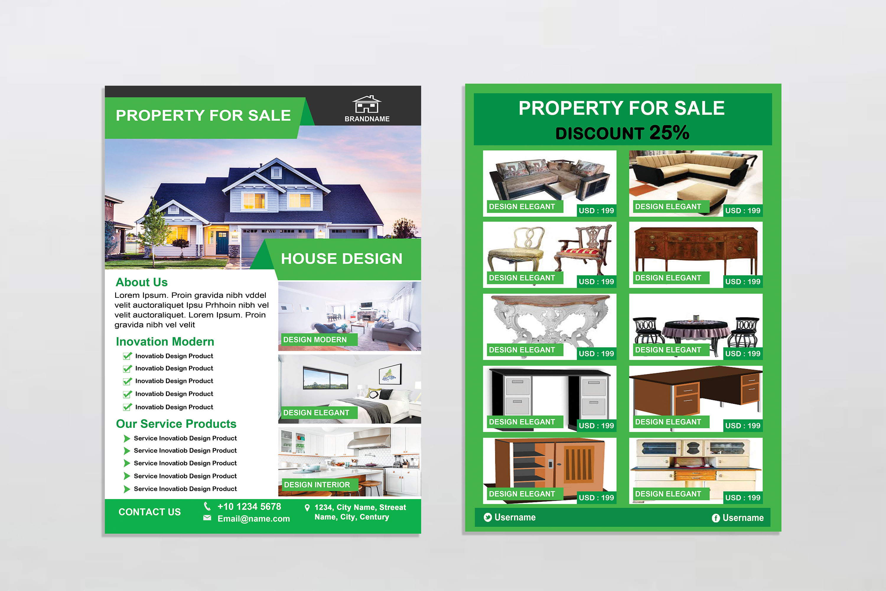 Flyer - Real Estate example image 6