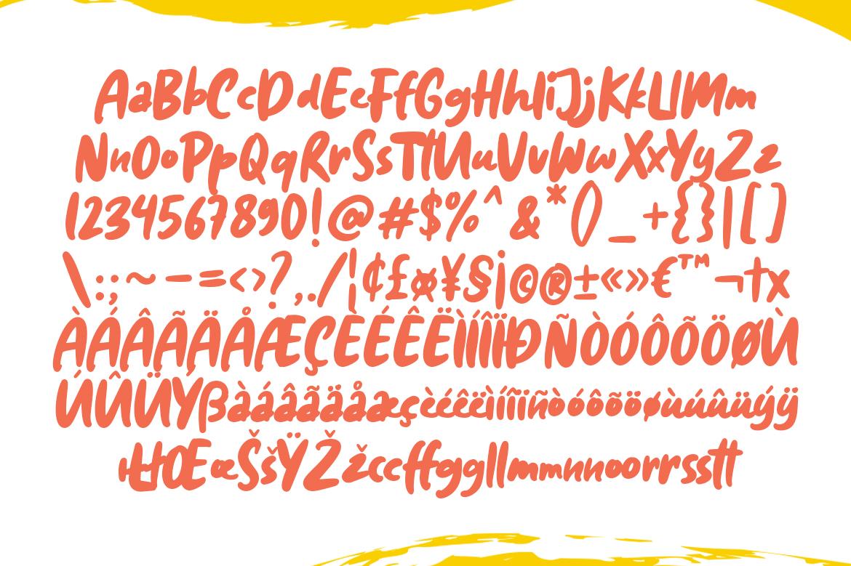 Diggies - A Playful Doodle Font example image 6