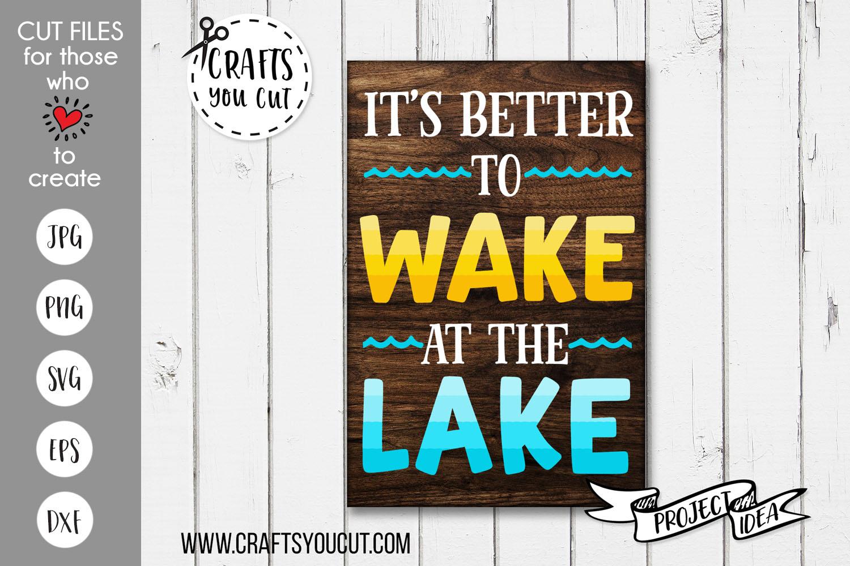 The Lake Bundle Vol. 2- A Summer/Lake SVG Cut File Bundle example image 5