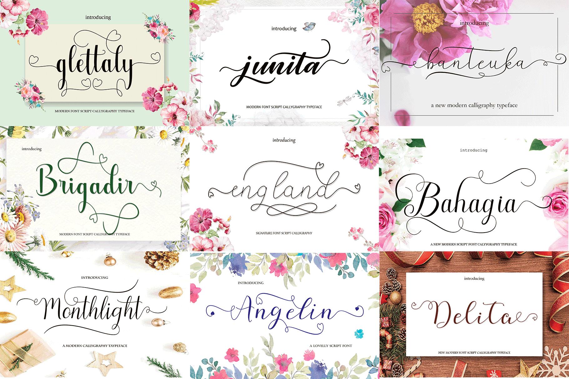 20 extraordinary hand fonts example image 8