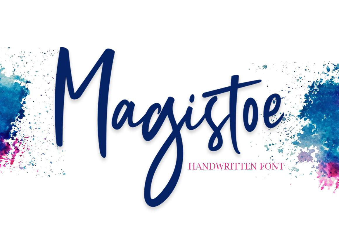 Magistoe script example image 1