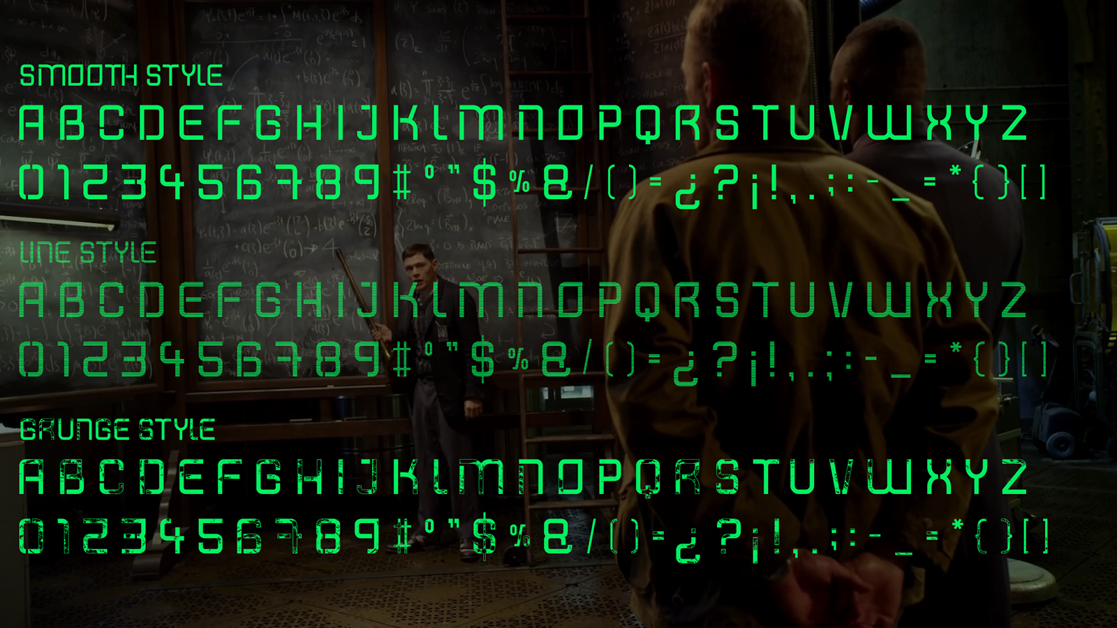 Shatterdome 3 fonts example image 2