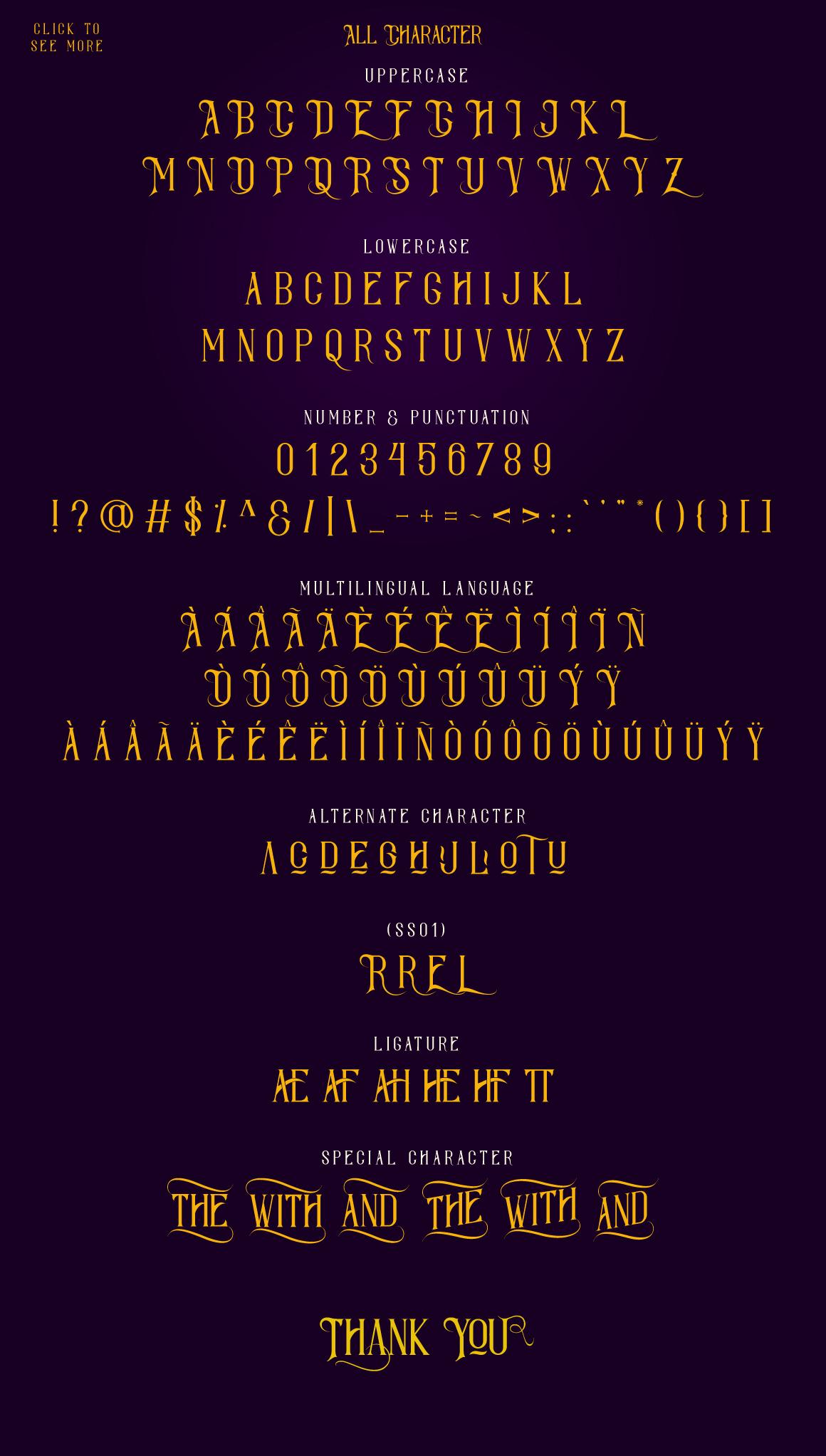Savaro Typeface example image 4