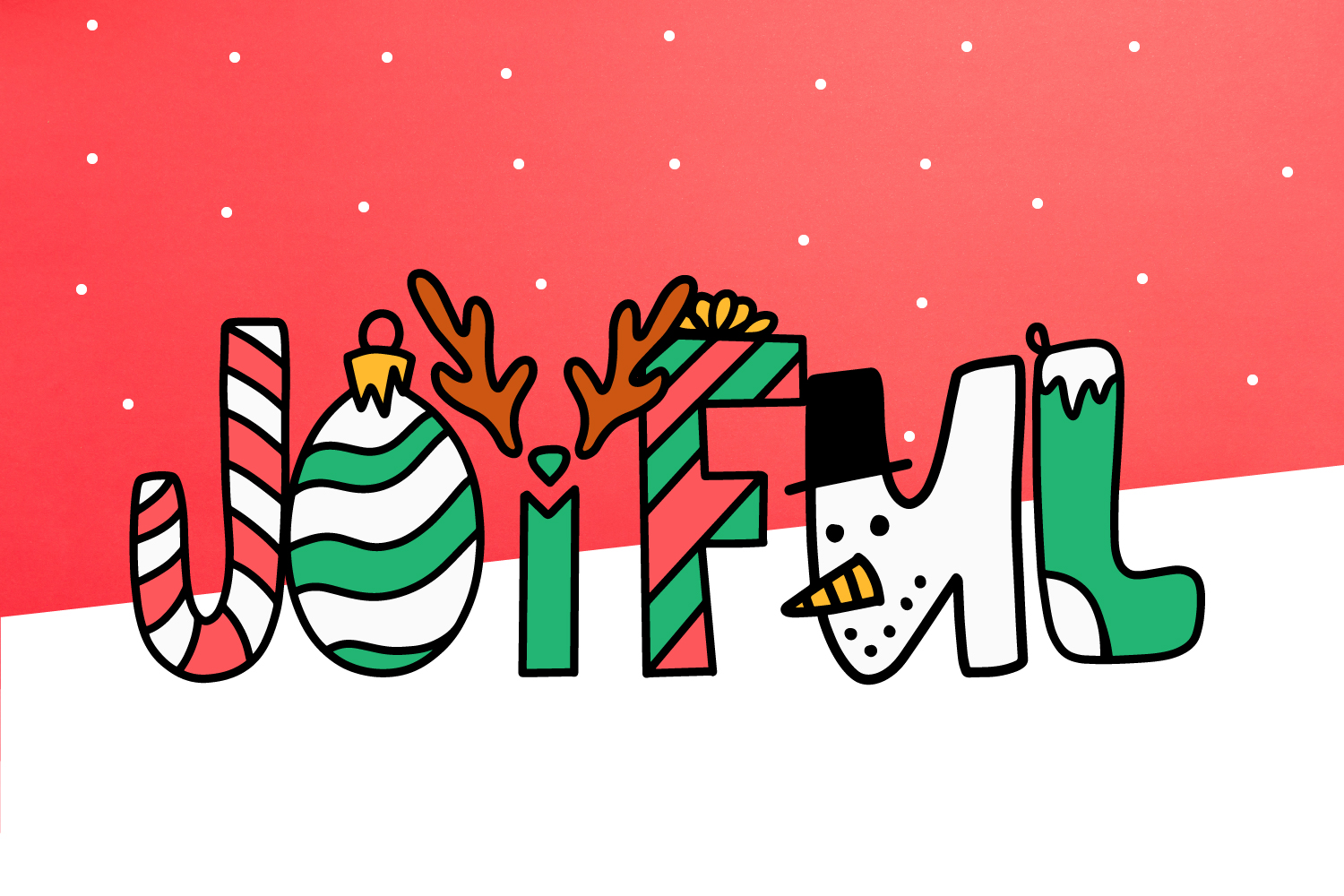 Sleigh Bells - A Christmas Font example image 2