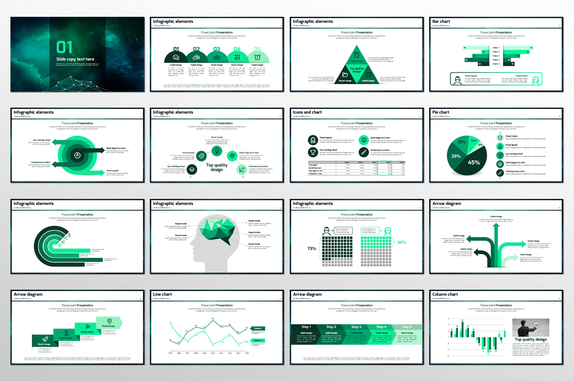 Space PowerPoint Template example image 2