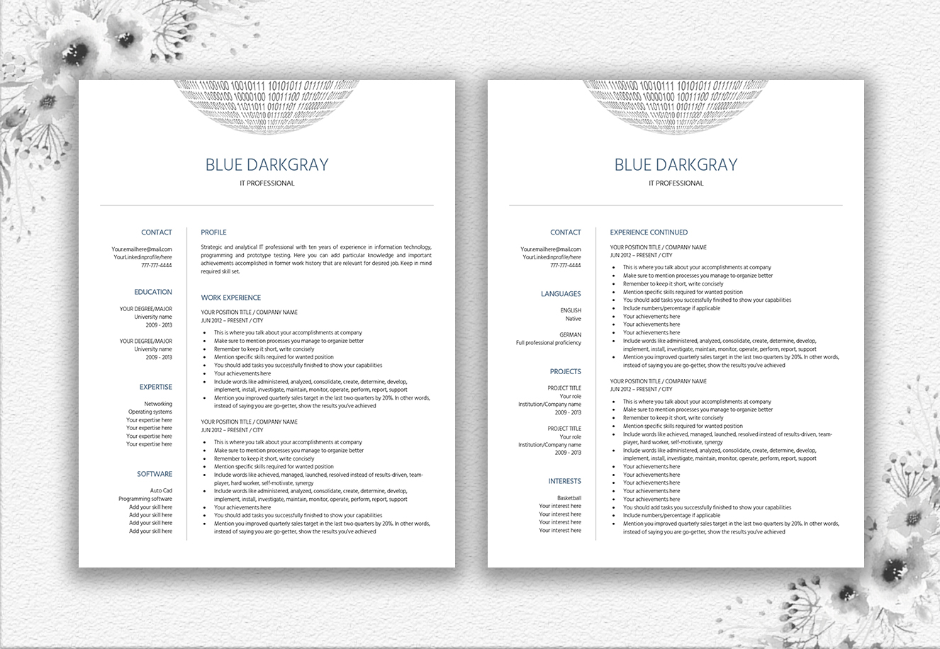 Resume Template IT   Engineer example image 4