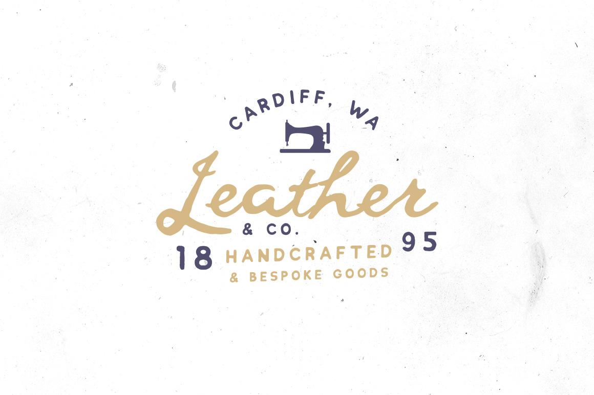 Chlakh - Hand Drawn Typeface example image 5