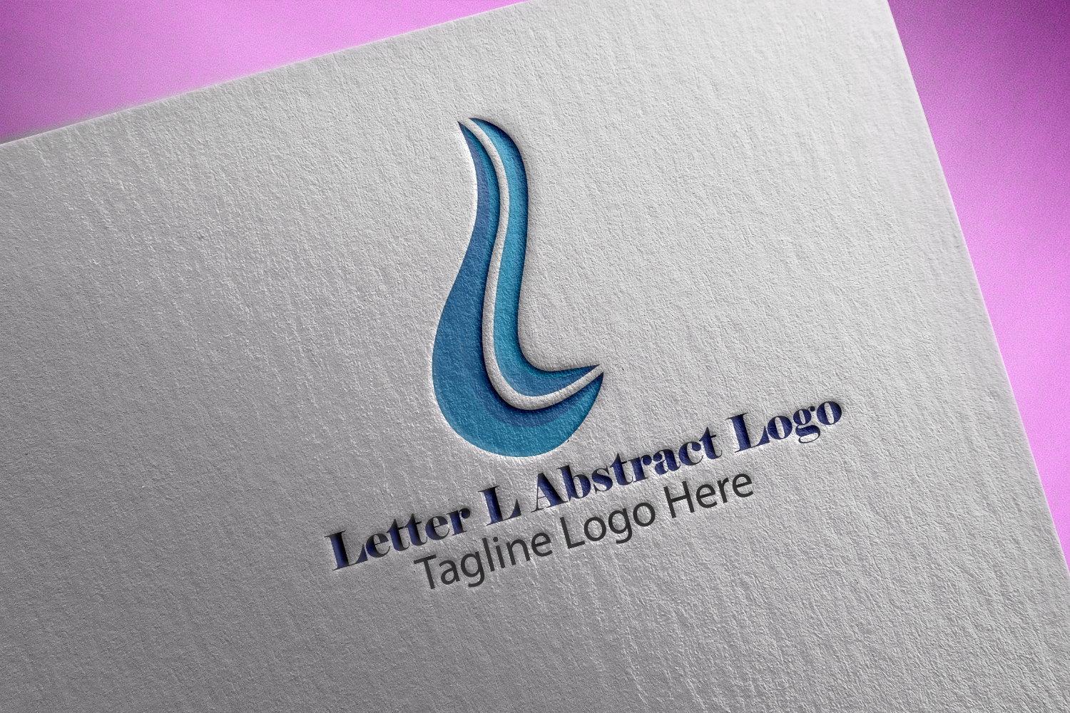 Premium Letter L Abstract Logo example image 1