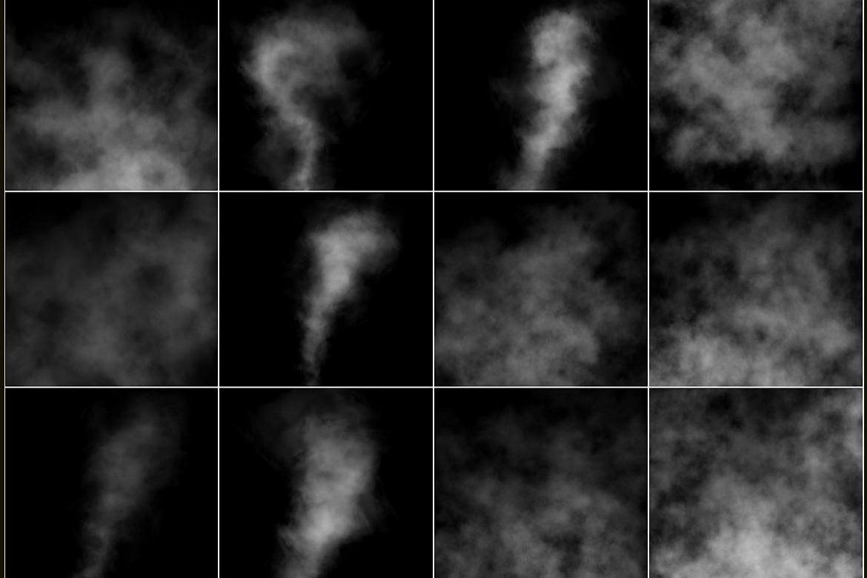 100 Cloudy Smoke Overlays example image 3