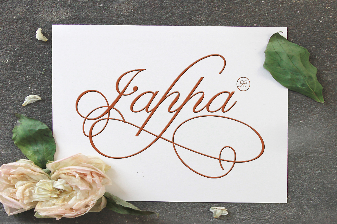 Claudia Calligraphy example image 4