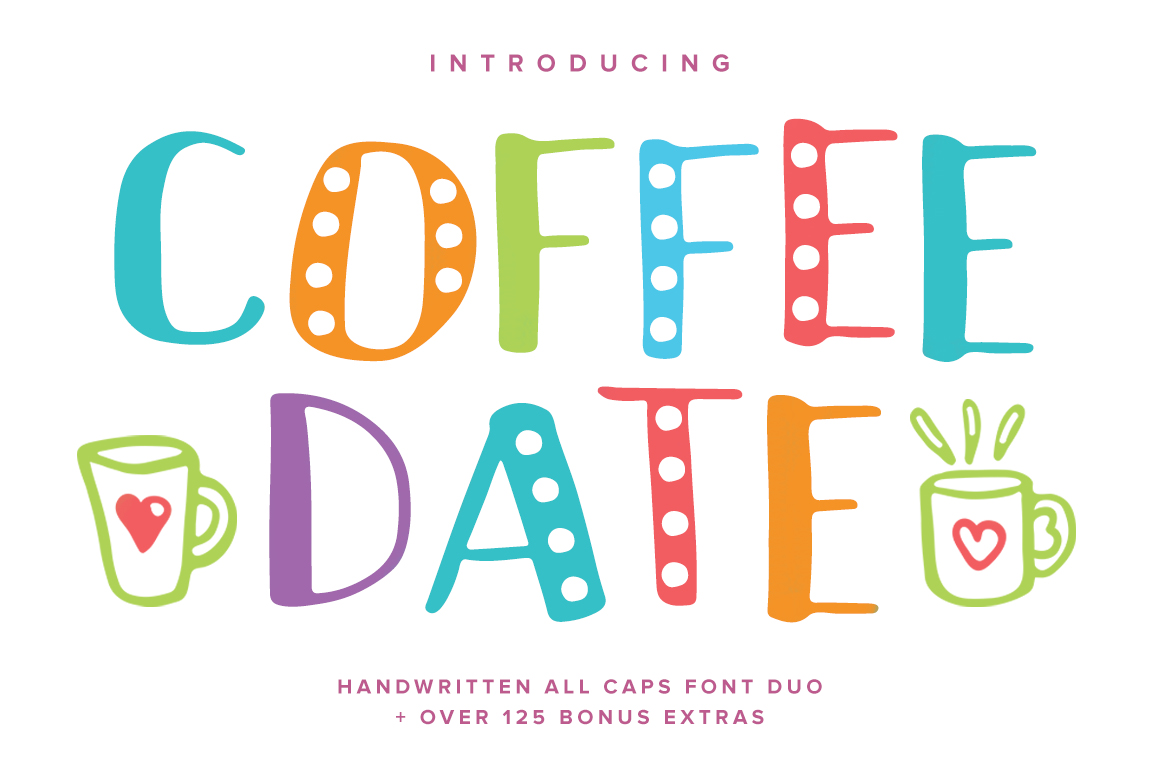 Coffee Date Font example image 10