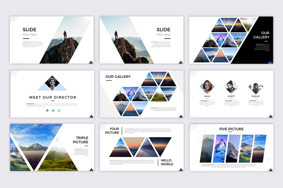 Mountain - Creative Presentation example image 3
