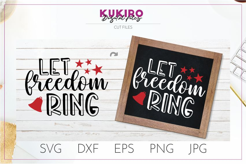 4th of July Bundle SVG - Big Patriotic Cut files Bundle example image 10