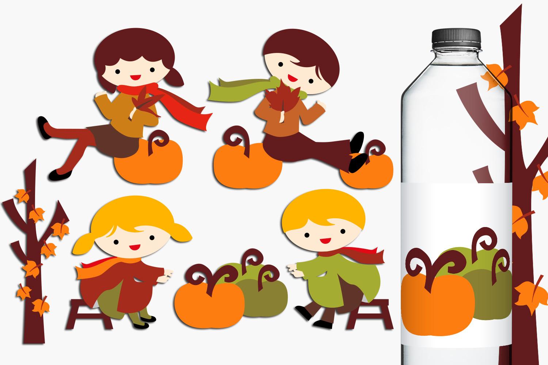 Harvest time - Autumn Fall Season Illustrations example image 1