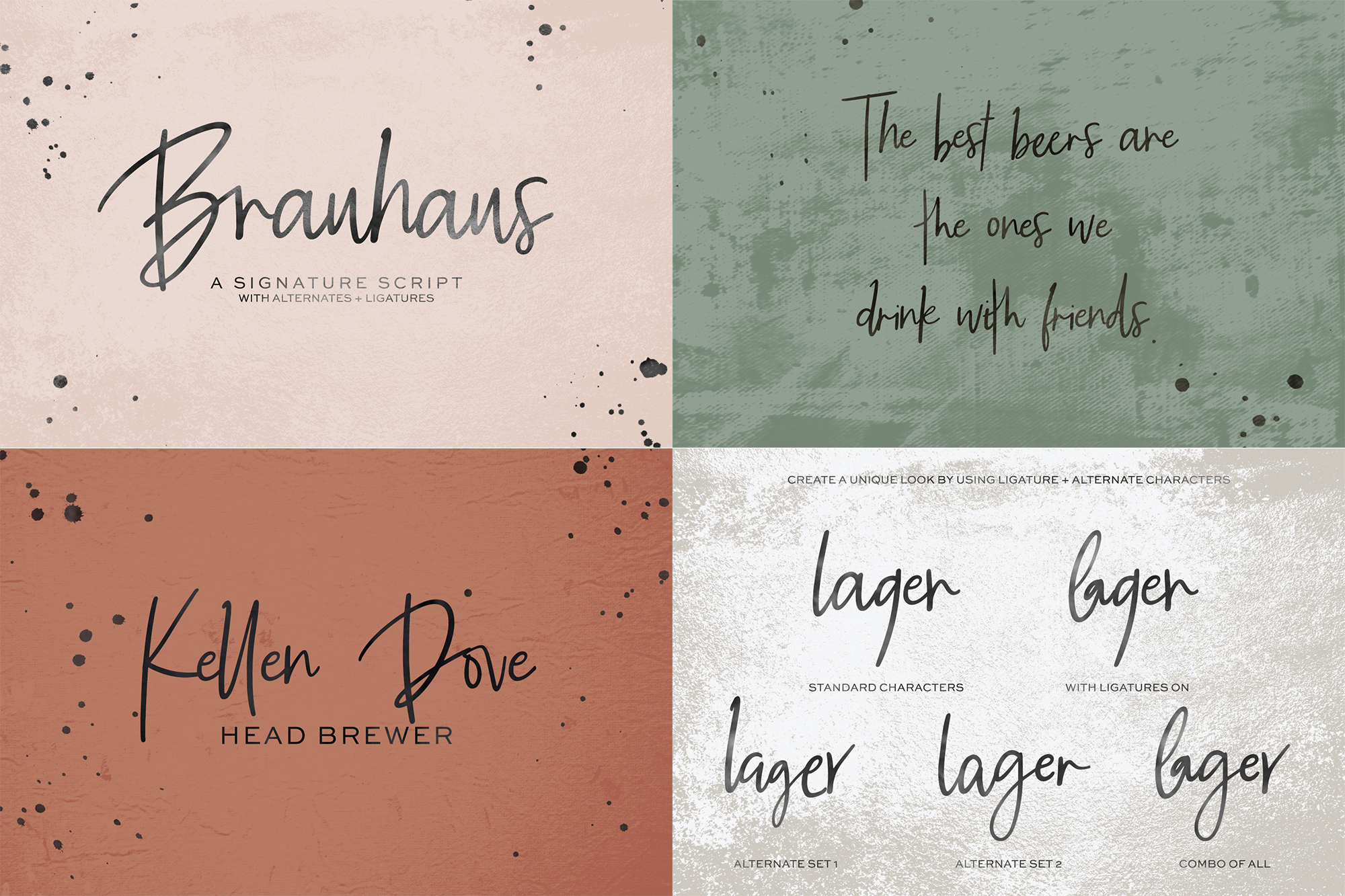 The Handwriting Font Bundle example image 5
