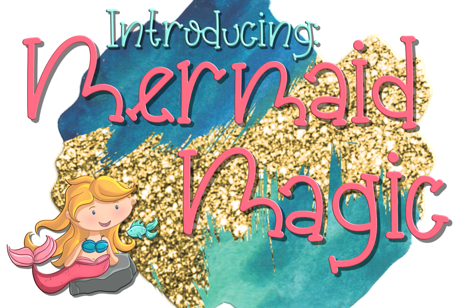 Mermaid Magic Font example image 1
