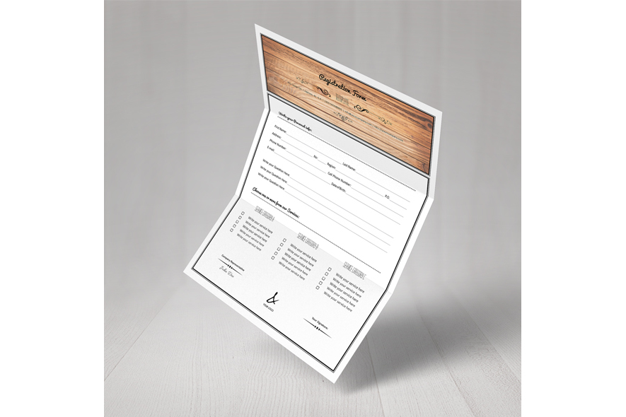 Registration Form Template v1 example image 6