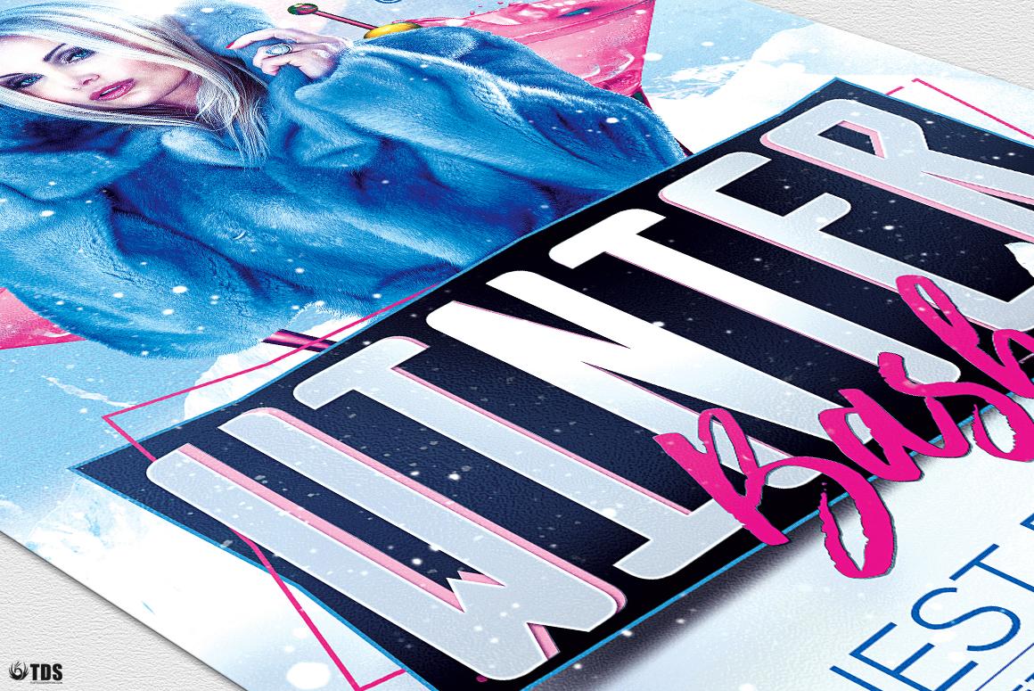 Winter Bash Flyer Bundle example image 11