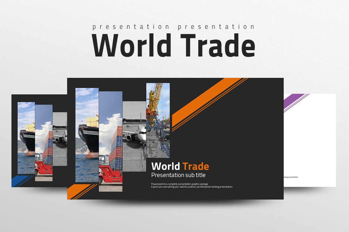Trade Powerpoint Template example image 1