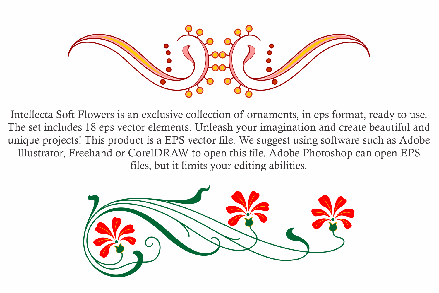 Intellecta Soft Flowers vol 2 example image 7