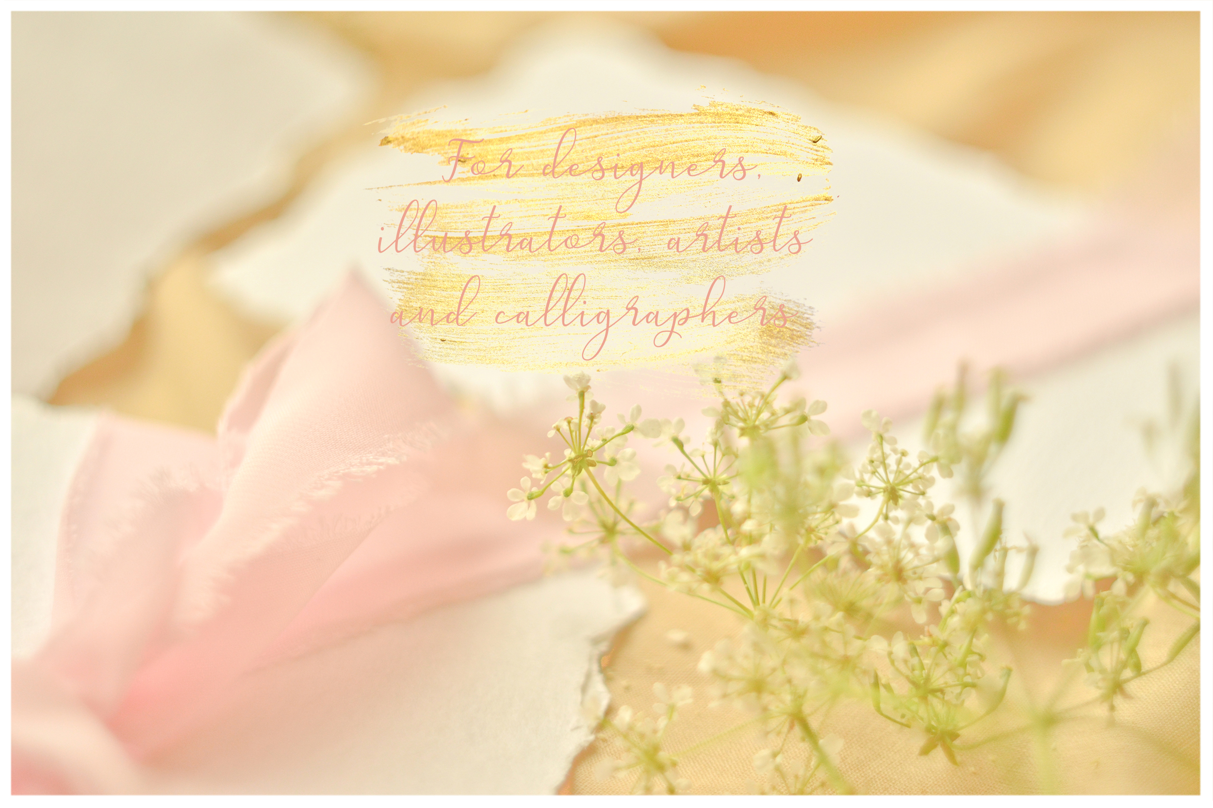 Honey Meadow. Wedding mockups & stock photo bundle example image 11