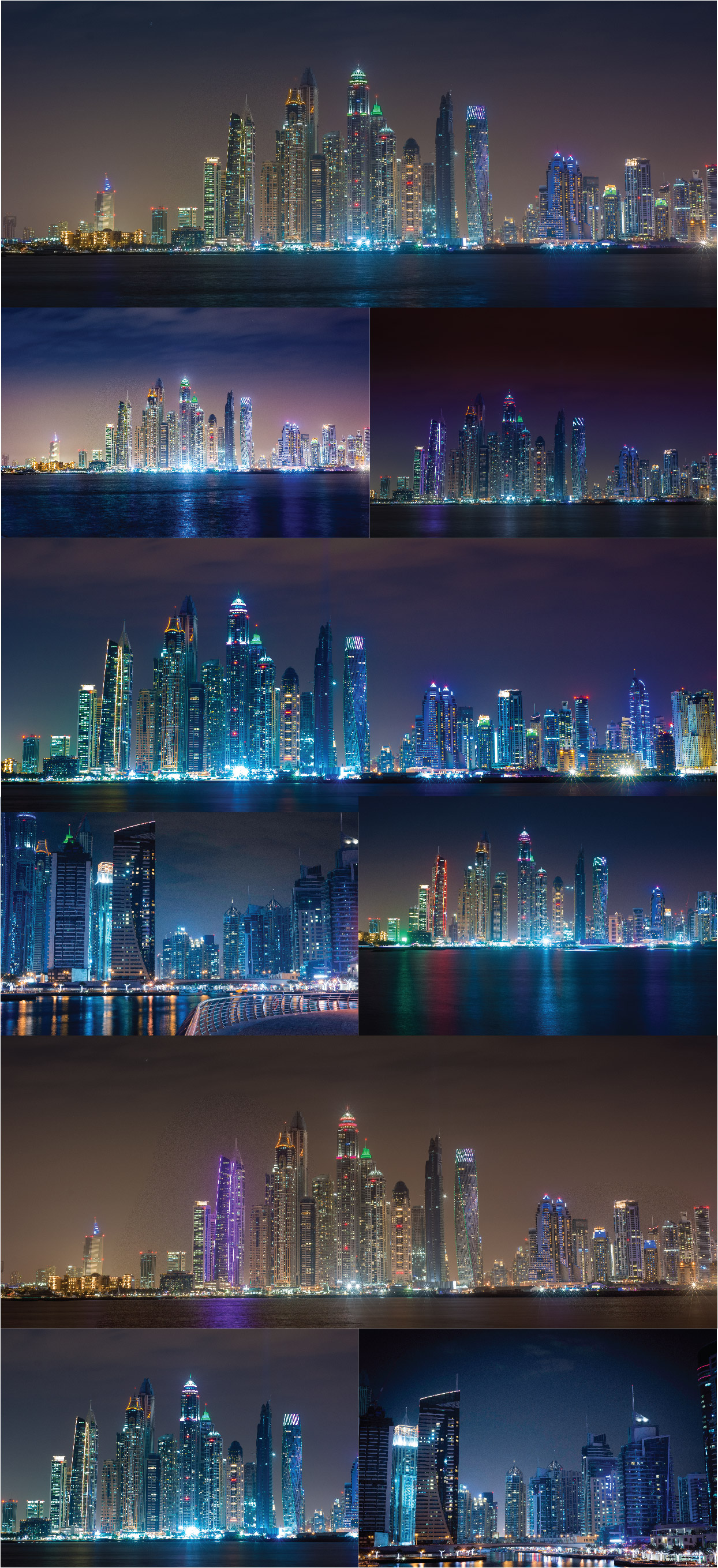Dubai Night Photo Pack example image 2
