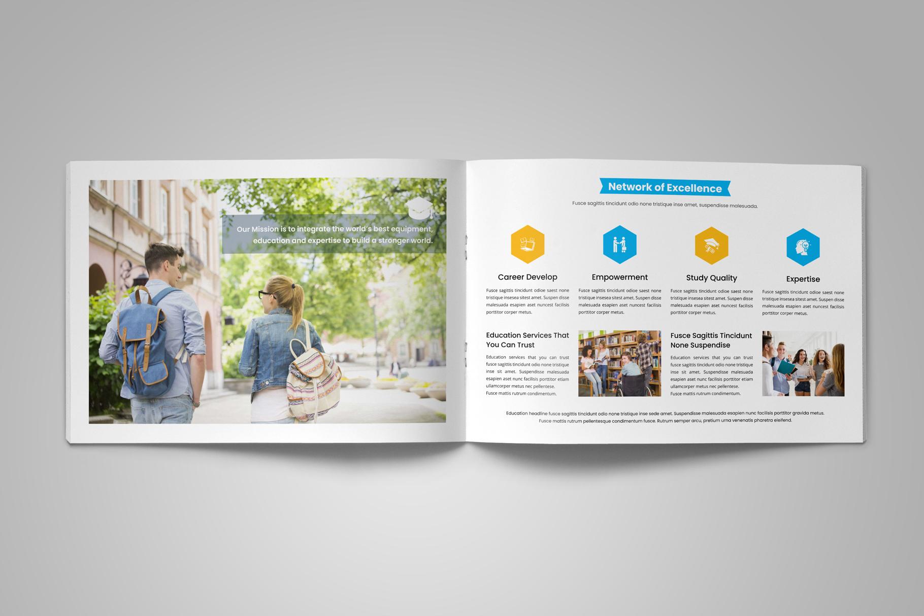 Education Prospectus Brochure v9 example image 7