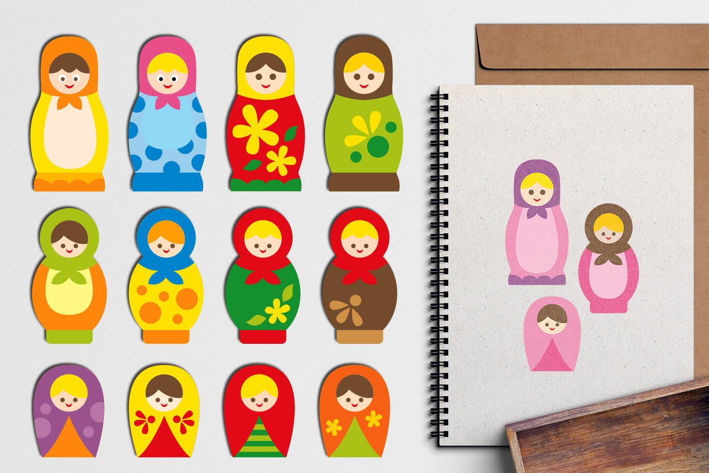 Just For Girls Clip Art Illustrations Huge Bundle example image 22