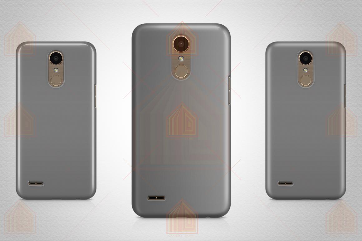 LG K10 2017 Case Design Mockup Back View example image 5