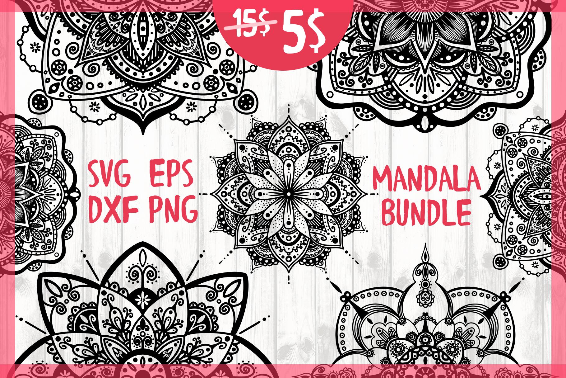 Mandala Bundle example image 1