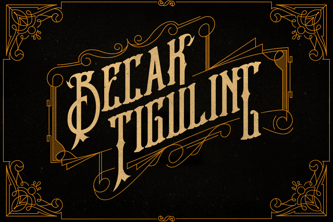 Therion Typeface + Ornament Bonus example image 7